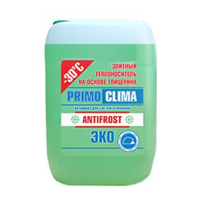 Теплоноситель Primoclima Antifrost (Глицерин) -30C ECO 10 кг канистра (зеленый) (PA -30C ECO 10)
