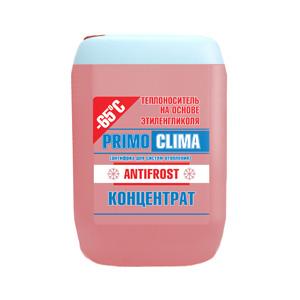 Теплоноситель Primoclima Antifrost концентрат (Этиленгликоль) -65C 10 кг канистра (красный) (PA -65C 10)