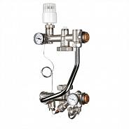 Насосно-смесительный узел для теплого пола Valtec Technomax 200 мм, 130 мм (VT.TECHNOMIX.0.130)