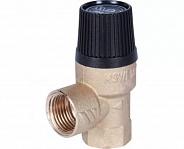 """Клапан предохранительный Stout MSV для систем отопления, 1/2""""x1/2"""", 3 бара (SVS-0001-013015)"""