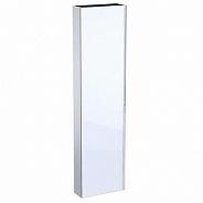 Шкаф пенал Geberit Acanto, плоский, 450x1730x174 мм, белое стекло (500.637.01.2)