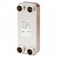 Danfoss (Данфосс) Теплообменник пластинчатый паяный XB12M-2-50/50 PN25 G5/4 (004H7590)