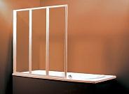 Шторка для ванной Ravak Supernova VS3 (795P0100Z1) (100 см) стекло прозрачное, профиль белый