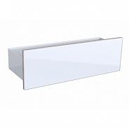 Стенная панель Geberit Acanto 450x148x160 мм, белое стекло (500.617.01.2)