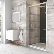 Душевая дверь Ravak Blix BLDP2 (0PVG0100Z1) (120 см) профиль белый прозрачное стекло