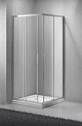 Душевой уголок BelBagno Sela 80x80x190 см, квадратный, хром (SELA-A-2-80-C-Cr)