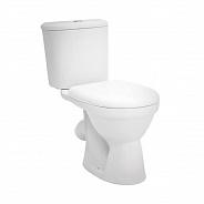 Унитаз напольный Santek Бореаль с сиденьем дюропласт Soft-close, антивсплеск (1WH302146)