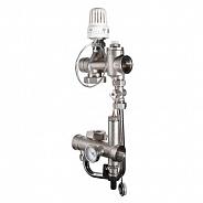 Насосно-смесительный узел для теплого пола Valtec Valmix 200 мм, 130 мм (VT.VALMIX.0.130)