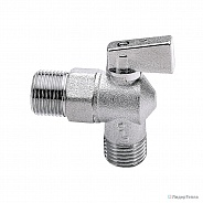 Itap 391 1/2х1/2 кран шаровой угловой для стиральных машин Itap (арт. 26136)