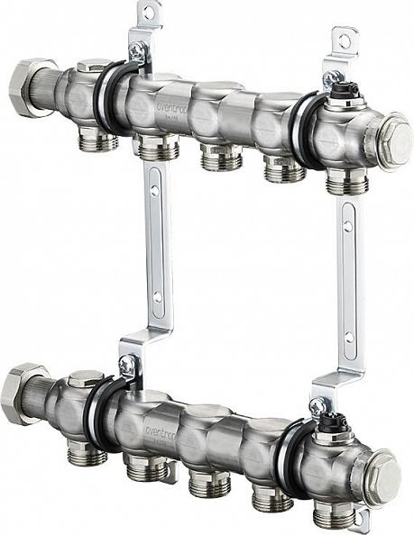 """Коллектор Oventrop Multidis SH 1"""" на 5 контуров для радиаторного отопления (1407055)"""