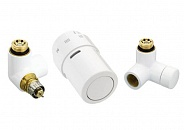 Danfoss (Данфосс) Комплект терморегулятора RAX белый правый 1/2 (013G4007)