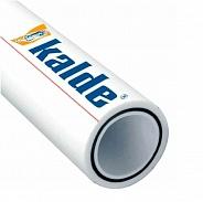 Труба полипропиленовая Kalde d=20х3,4 (PN 25) (стекловолокно) (цвет белый)