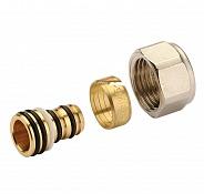 Фитинг Stout компрессионный для труб PEX-AL-PEX 16х2,0х1/2 (арт. SFC-0022-001620)