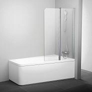 Шторка для ванной Ravak 10° 10CVS2 (7QRA0C03Z1) правая профиль хром