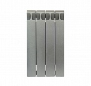 Биметаллический радиатор Rifar Monolit 500, 4 секции Титан