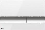 Смывная клавиша Alcaplast (M1720-1) белый/хром глянцевый