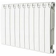 Радиатор биметаллический Теплоприбор BR1-350 10 секции боковое подключение