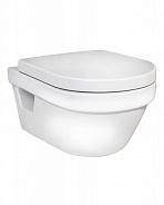 Унитаз подвесной безободковый Gustavsberg Hygienic Flush 325x370x530 мм, белый (5G84HR01)