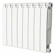 Радиатор биметаллический Теплоприбор BR1-500 8 секции боковое подключение