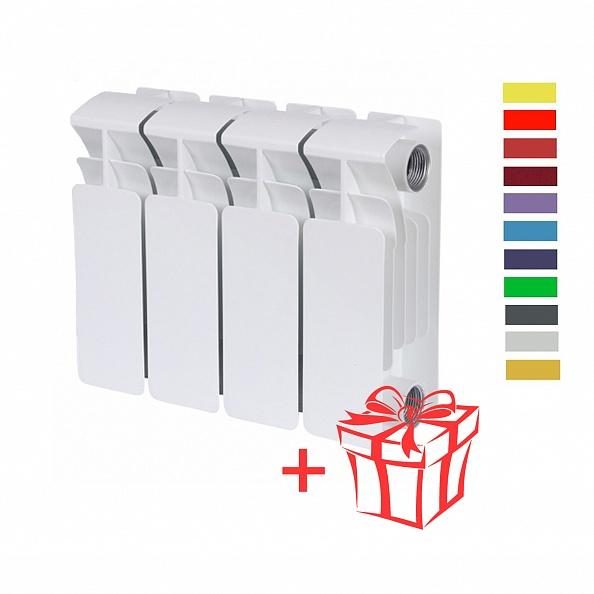 Радиатор биметаллический Rifar (Рифар) Base 200 (4 секции)