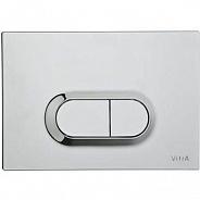 Смывная клавиша Vitra Loop (740-0580) (хром)