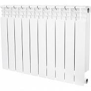 Биметаллический радиатор STOUT Space 500 10 секций с нижним правым подключением