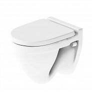 Чаша подвесного унитаза Sanita Luxe Attica с крышкой-сиденьем микролифт