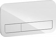 Смывная клавиша Villeroy & Boch ViConnect (922400RE) стекло (белый глянцевый)