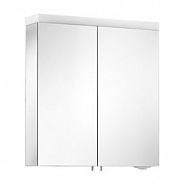 Зеркальный шкаф с двойной подсветкой 650х700х150 мм Keuco Royal Reflex.2 (24202 171301)