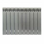 Биметаллический радиатор Rifar Monolit 500, 10 секций Титан
