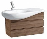 Тумба для ванной Laufen Alessi (4.2447.0.097.630.1) (73.2 см) (черный орех) (лево-ориентирована)