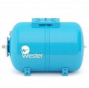Гидроаккумулятор для водоснабжения Wester WAO 100 горизонтальный (арт. 0140995)