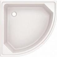 Поддон для душа BLB (C00C) 70х70 стальной полукруглый