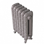 Чугунный ретро-радиатор Exemet Magica 600/400 1 секция, размер с ножками 600х175х66мм