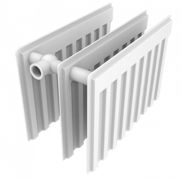 Стальной панельный радиатор SPL CV 30-3-24 (300х2400) с нижним подключением