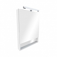 Зеркальный шкаф Roca Gap 70 (ZRU9302886) белый глянец