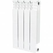 Радиатор биметаллический Stout Space 500 4 секции боковое подключение (SRB-0310-050004)