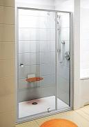 Душевая дверь Ravak Pivot PDOP2 (03GG0100Z1) (120 см) стекло прозрачное, профиль белый