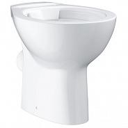 Унитаз напольный приставной Grohe Bau Ceramic 39430000 белый