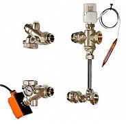 Насосно-смесительный узел для теплого пола Valtec Dualmix 130 мм (VT.DUAL.0.130)