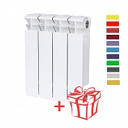 Радиатор биметаллический Rifar (Рифар) Base 350 (4 секции)