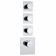 Термостат для ванны Bossini Outlets (Z031205.030) на три потребителя
