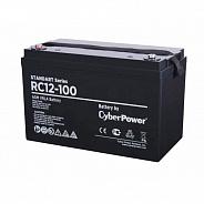 Аккумуляторная батарея для ИБП SS CyberPower RС 12-100 (арт. RС 12-100)
