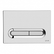 Смывная клавиша Vitra Loop (740-0780) (хром)
