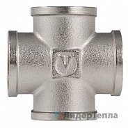 "Фитинг Valtec резьбовой крестовина ВВ 1/2"" (VTr.760.N.0004)"