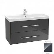 Тумба для ванной Villeroy & Boch Avento (A89200B1) (100 см) Crystal Grey