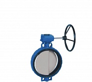 Danfoss (Данфосс) SYLAX Дисковой поворотный затвор с ручным редукторным приводом DN700 (149G079446)