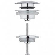 Сифон для раковины донный клапан Grohe, хром (65807000)