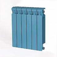 Биметаллический радиатор Rifar Monolit 500, 6 секций Сапфир