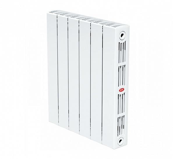 Биметаллический радиатор Rifar Supremo 350, 4 секции, с боковым подключением